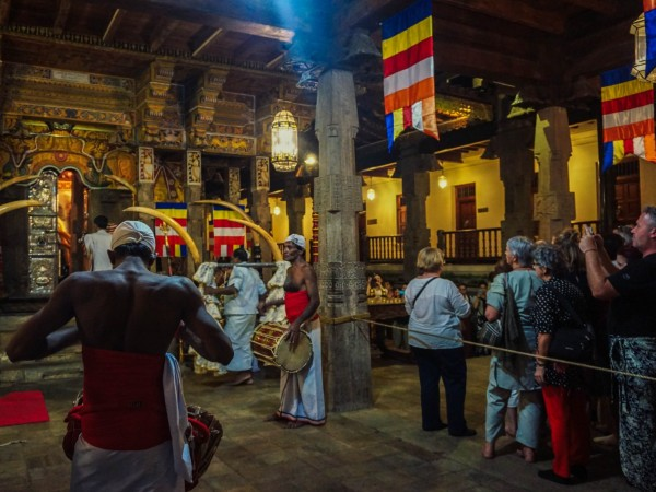 Sacred Tooth Ceremony in Kandy, Sri Lanka
