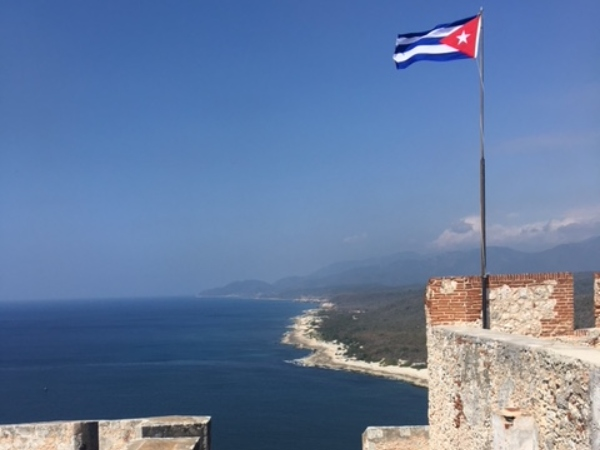 View from the fort in Santaigo