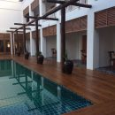 Swimming pool at Bagan hotel