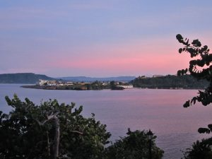 Sunset over Baracoa