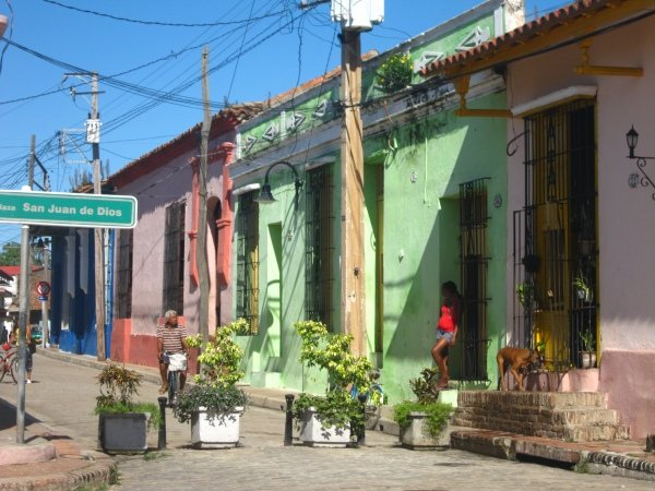 The streets of Camaguey
