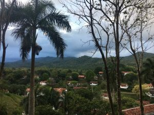 View of the Las Terrazas community