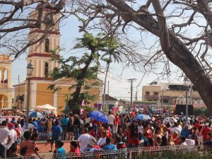 A parade in Remedios