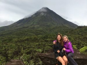 Lava Flows of Arenal Volcano