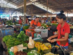 Food tour in Vientiane in Laos