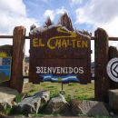El Chalten welcome sign