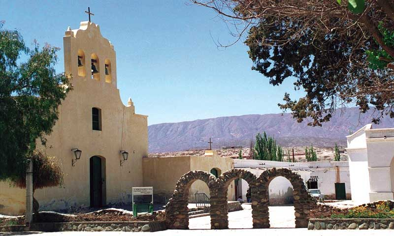 Church in Salta Cachi