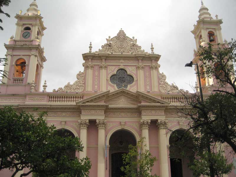 Cathedral in Salta Cachi