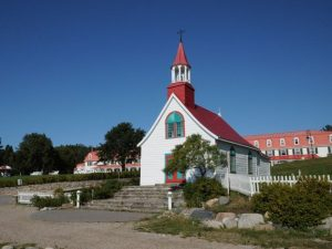 Historical chapel in Tadoussac