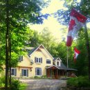 Canadian House in the forests