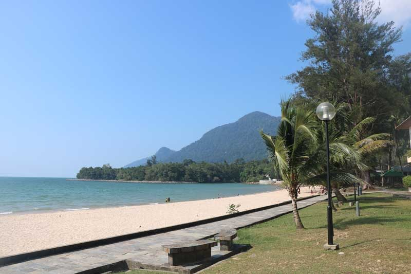 Beach on the Damai peninsula