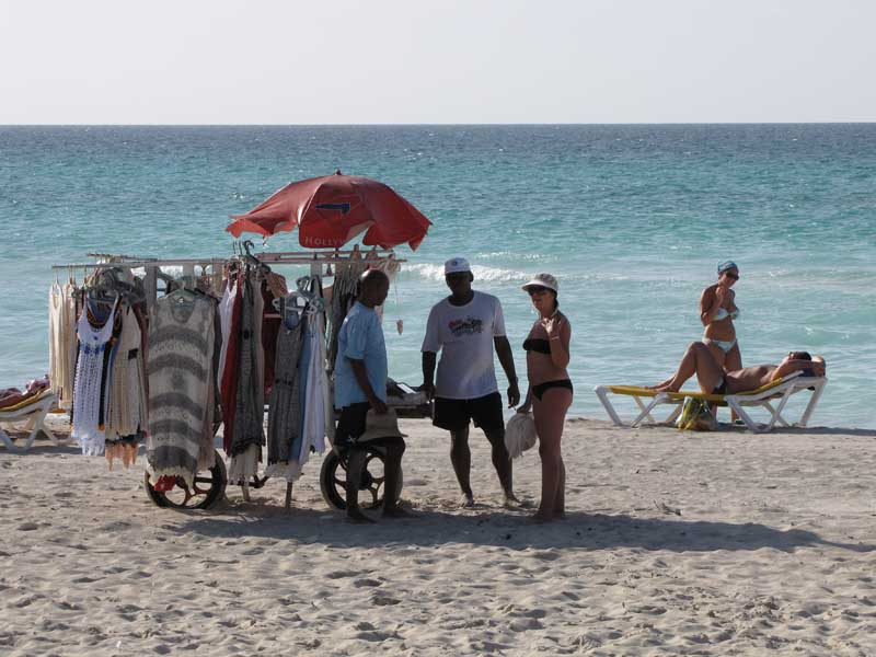 Varadero Beach Clothes Seller