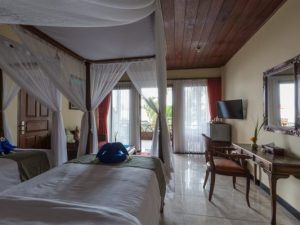 Room at the standard hotel in Amed, Bali, Indonesia