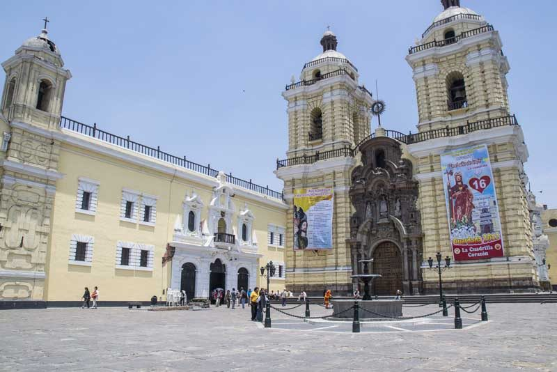 Church in Lima, Peru