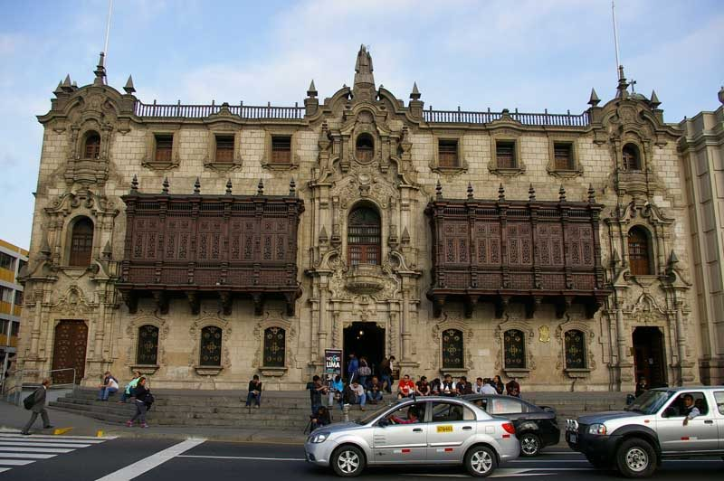 Old building in Lima