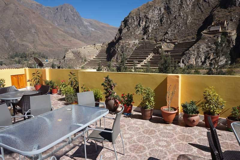 Peru - Ollantaytambo - Views from balcony