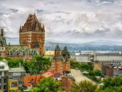 Chateau Frontenac in Quebec city,