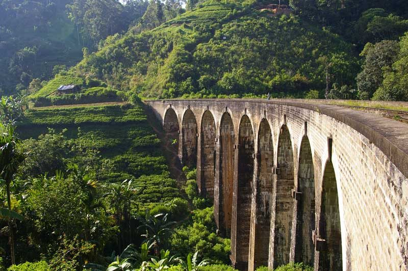 Sri Lanka Nine Arch Bridge Ella