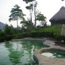 Swimming pool with the view in Ella, Sri Lanka