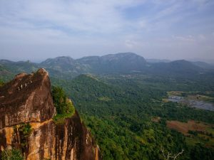 View of Gal Oya National Park