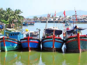 Departure from Hoi An
