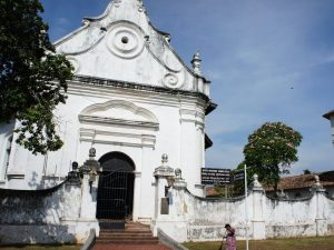 Cathedral in Galle, Sri Lanka