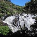 sri lanka horton plains national park landscape view waterfall