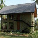 View of the Simple Accommodation in Polonnaruwa, Sri Lanka