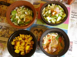 Local food dishes