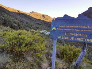 The trekking lodge for the Cerro Chirripo hike