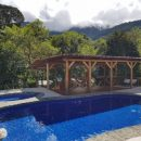 The pool at our In Style accommodation in San Gerardo de Rivas