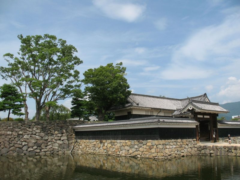 building next to matsumoto castle found in japan.