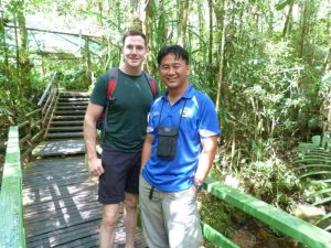 Canopy walk with guide in Kinabalu National Park