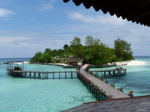 The jetty at Lankayan