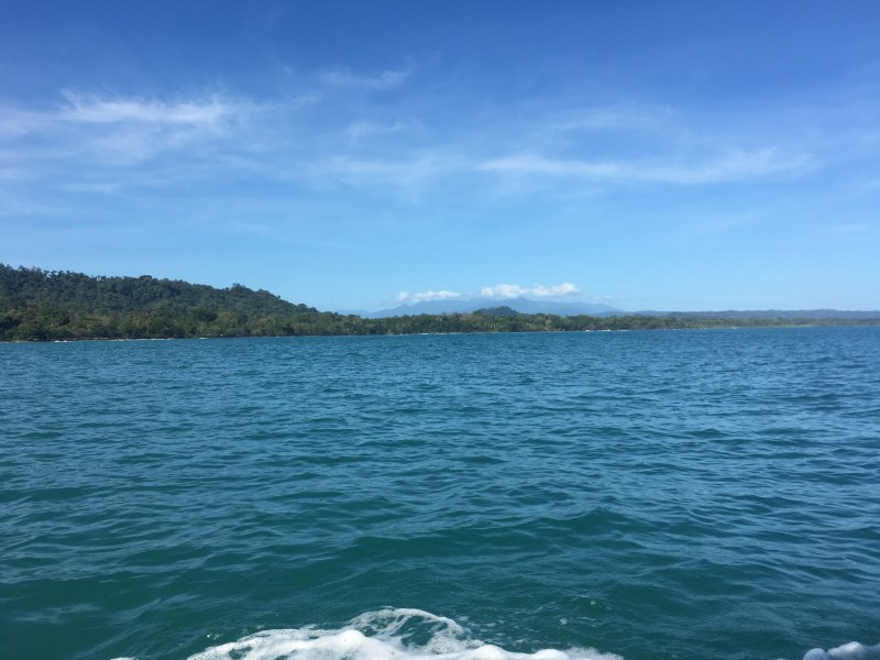 Sea view from boat