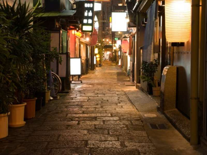 Back alley of Kyoto