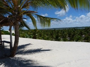 Looking over the dunes of Mangue Seco
