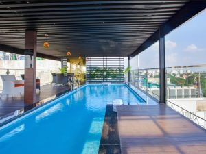 hotel with swimming pool in Hanoi