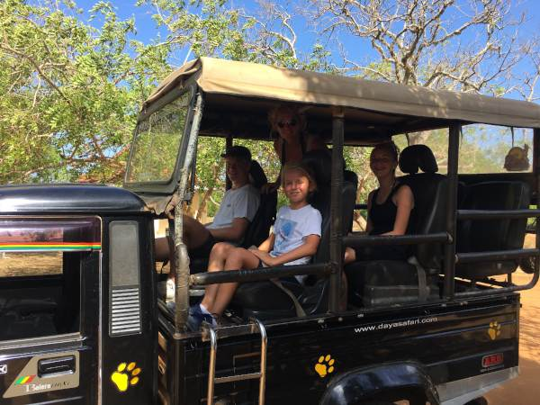 Jeep Safari with Family