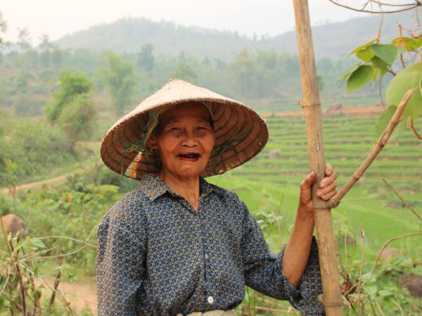 Local tribe woman