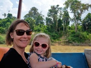 Boat trip for family