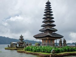 The Meru tower at Pura Bratan