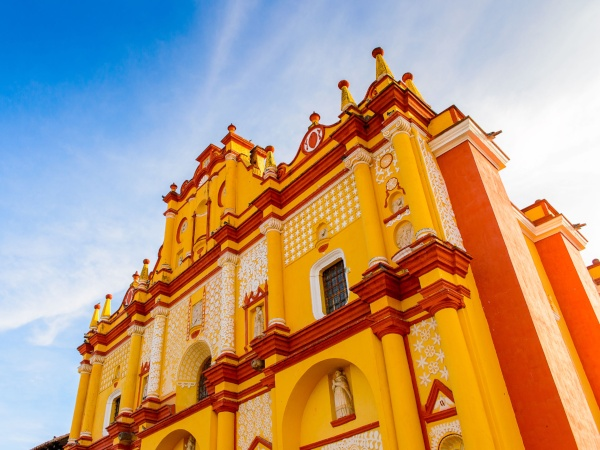 Church in San Cristobal de las Casas, Chiapas, Mexico