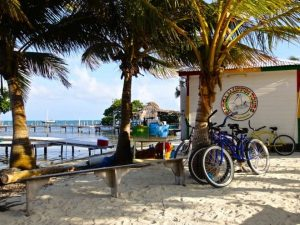 Set sail from Caye Caulker to Rendezvous Caye