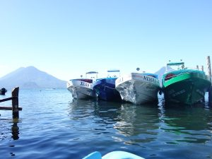 Arrival at Lake Atitlan