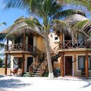hotel building on beach in tulum