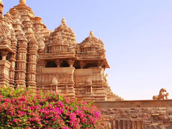 Devi Jagdambi Temple, Western Temples in Khajuraho, Madya Pradesh, India. Unesco World Heritage Site