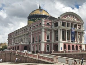 The famous Opera House in Manaus