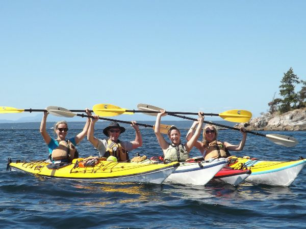 Kayaking in Sunshine Coast, Canada
