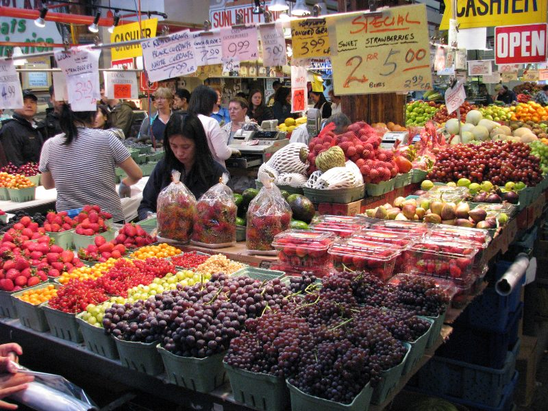 Fruit at a market